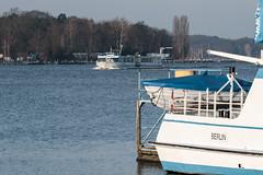 Fahrgastschifffahrt auf dem Wannsee (neuhold.photography) Tags: fahrgastschiff boot ausflugsboot schiff wannsee berlin wasser anleger ausflug naherholung