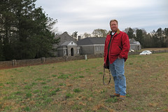 megreenbri (FAIRFIELDFAMILY) Tags: jason taylor carson greenbrier school winnsboro fairfield county sc south carolina granite wall fence building architecture design historic child boy young outside exploring explore michelle ralph lauren barn coat jacket vintage old barbour waxed english easter bunny costume father son train rail railroad gene baughman darren long roddy column tim mccarty nick depace 50 birthday party reunion