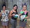 2018 Honduras Nueva Frontera - women with cooked food (Photo Credit CASM) (Foods Resource Bank) Tags: churchworldservice cws foodsresourcebank frb casm food security farmers community cooking nutrition ecostove compost vegetables fodder cattle improved farming climate water