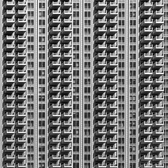 160+ Balconies (laga2001) Tags: building living repeating repetition texture structure pattern monochrome architecture manmade skyscraper square windows facade monotonous repetitive black white grey geometry symmetrical rows coloumns spreadsheet canon