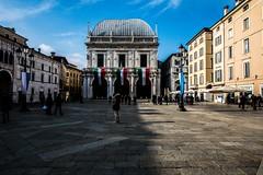 Piazza della Loggia, Brescia, Italy (Davide Tarozzi) Tags: piazzadellaloggia brescia italy italia architettura architecture square