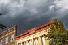 Wasnington NC - Bright Buildings With A Heavy Sky (Modkuse) Tags: washingtonnc bird nc easternnc northcarolina building clouds storm stormclouds nikon d700 nikond700 50mm