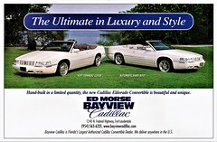 1999 Cadillac Eldorado Convertible (aldenjewell) Tags: 1999 cadillac eldorado convertible ed morse bayview dealer ad coach builders ltd high springs fl florida