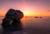 Last rays at sunset (#Luka#) Tags: sunset rocks rock sky sea seascape sun skyscape southern color nikon d750 nisi filter beauty nature clouds cloudscape landscape beach calabria italy