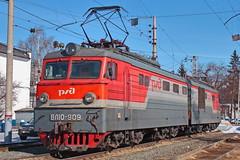 VL10-909 (037) (zauralec) Tags: kurgan depot депо ржд rzd курган локомотив электровоз vl10 вл10 vl10909 909 вл10909 037 вл10037