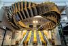 Wynyard Train Station. (Eddy Summers) Tags: wynyard wynyardtrainstation escalators art city sydney urban pentax pentaxkp hdr da15mmf4