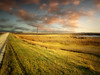 Dakota prairie 23 (mrbillt6) Tags: landscape rural prairie field road sky grass clouds outdoors country countryside northdakota
