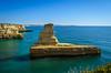 Praia da Morena 562 (_Rjc9666_) Tags: algarve beach coastline colors europe landscape nikkor1855 nikond5100 portugal praia praiadamorena rockformation sea seascape sky travel turismo ©ruijorge9666 2084 562