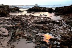 Flash of colour (TonyinAus) Tags: surnise water ocean sea morning australia