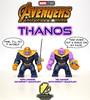 Thanos (Armor vs. No Armor) [MCU] (agoodfella minifigs) Tags: legomarvel lego legosuperheroes legoavengers thanos avengers avengersinfinitywar moc
