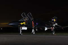 McDonnell Douglas F-4K Phantom FG1 - 39 (NickJ 1972) Tags: raf cosford photoshoot photocall photo shoot night nightshoot threshold aero aviation 2018 mcdonnelldouglas f4 phantom fg1 xv582 m blackmike bpag