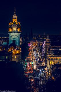 Edinburgh | Prince Street, Balmoral Hotel
