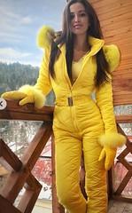 yellow1 (skisuitguy) Tags: skisuit snowsuit ski snow suit skiing skifashion skiwear skioutfit skibunny snowbunny onepieceskisuit onepiecesuit onesie onepiece skianzug skidress allinone