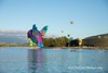 Hummingbird Balloon, Canberra 2018 (Anna Calvert Photography) Tags: australia canberra lakeburleygriffin nationallibrary adventure balloonfestival ballooning balloons canberraballoonfestival landscape landscapephotography morninglight outdoors scenery sunrise telstratower transportation water