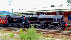 44932 Winchfield 5 August 2010 (24) (BaggieWeave) Tags: steamengine steamlocomotive steam steamtrain 44932 black5 blackfive hampshire winchfield cathedralsexpress 460