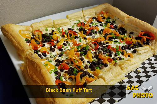 "Black Bean Puff Tart • <a style=""font-size:0.8em;"" href=""http://www.flickr.com/photos/159796538@N03/40771504722/"" target=""_blank"">View on Flickr</a>"
