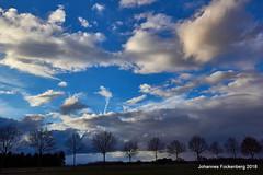 Allee mit Himmel (grafenhans) Tags: sony alpha 68 alpha68 a68 slt sigma 4056 1020 himmel wolken unwetter strasse allee grafenwald bottrop nrw farben color landschaft landscape licht