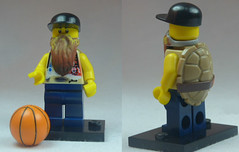 Brick Yourself Custom Lego Figure Mutant Basketballer