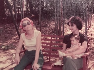 I fell into 1976 when I found some old photos of me and my family.
