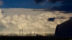Clouds over bridges 3 (dtankosic) Tags: bridge belgrade beograd clouds sky serbia sava river architecture