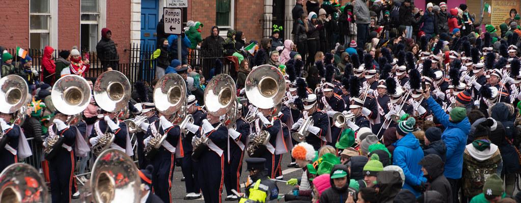 DUBLIN SAINT PATRICKS PARADE 2018 [THE MARCHING ILLINI]-137411
