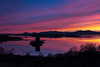 In The Twilight Zone (Visible Landscape) Tags: uk scotland twilight sunset visiblelandscape castlestalker reflection clouds colours