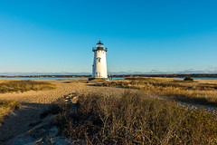 Edgartown Lighthouse (David E Henderson) Tags: lighthouse edgartown marthasvineyard sea navigation dusk