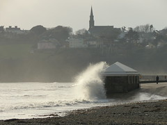 18 03 17 Tramore Co Waterford (2) (pghcork) Tags: tramore waterford waves sea coast ireland winter march 2018