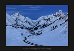 Blaue Stunde @ Hochtannbergpass (MC-80) Tags: hochtannbergpass vorarlberg bluehour blauestunde