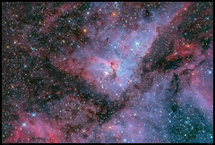 Carina Nebula in HDR and full colour ( NGC 3372 ) (Mike O'Day) Tags: eta carina carinae nebula star cluster hdr asto photo image astronomy mike oday astrometrydotnet:id=nova2481830 astrometrydotnet:status=solved ngc 3372 keyhole open trumpler collinder 14 15 16 232 hd 93308