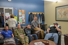 Veterans Lounge Re-dedication