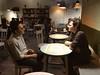 Sabbir and Josh chatting (olive witch) Tags: abeerhoque bangladesh bd cafe dhaka feb18 february male night pair veggies