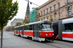 Brno, Joštova 21.10.2016 (The STB) Tags: brno tram tramway strassenbahn strasenbahn tramvaj tramvaje publictransport citytransport öpnv czechrepublic českárepublika