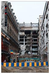 La malédiction de Bruxelles (Jean-Marie Lison) Tags: eos80d sigmaart bruxelles boulevardanspach chantier démolition