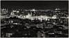 Istanbul »Over the Rooftops« (/RealityScanner/) Tags: türkei turkey türkye istanbul tourismus tourism reisen travel dokumentation documentation olympus2007 schwarzweiss blackwhite nacht night dächer roofs lichter lights illumination city urban panorama overview moscheen mosques galata turm tower hagiasophia sultanahmedmoschee blauemoschee