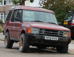 H291 RVG (Nivek.Old.Gold) Tags: 1990 land rover discovery tdi 3door 2495cc mannegerton lynn kingslynn