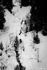 Survol!!! (La Pom ) Tags: savoie haute combloux ski neige piste montagne noir blanc