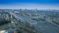 DJI_0436-HDR kl (keesoosterwijk) Tags: rotterdam roof rotterdamlove 010 drone dronephotography nightphotography mavic mavicpro mavicdrone nightshots hdr hdrphotography