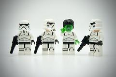 LEGO Stormtrooper Hulk (Pasq67) Tags: lego minifigs minifig minifigure minifigures afol toy toys flickr legography pasq67 starwars stormtrooper france marvelcomics marvel comics hulk robertbrucebanner robert bruce banner 2018