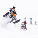 Speedy curve in Tahko snowcross competition thumbnail
