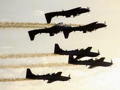 Esquadrilha da Fumaça (EvandroFilho) Tags: embraera29supertucano a29a a29b forçaaéreabrasileira sunset photography aviões vooemformação embraerlovers fumaçajá