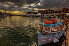 Sunrise from Weymouth Harbour (cantdoworse) Tags: weymouth harbour boats fishing canon 60d landscape dorset england boat jurassic coast