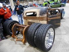 1949 Ford F-1 (splattergraphics) Tags: 1949 ford f1 truck custom ratrod diesel duallie carshow motorama pafarmshowcomplex harrisburgpa