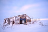 Arctic cabin @ sunset (Kristaaaaa) Tags: island abandoned arctic building cabin canada cold fujixt2 fujifilm house north northern nothwestterritories sky snow sunset traditional tuktoyaktuk winter velviavivid colour dusk