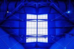 Center For Career & Tech Ed - Blue Ceilings #2 (amarilloladi) Tags: columbiabasincollege rx100v sonyrx100m5 buildings architecture geometric skylight blue prettyinblue 7dwf crazytuesdaytheme ceilings centerforcareerandtechnicaleducation