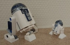March 13: Honey, I shrunk the droids! (Snowhitie) Tags: lego starwars r2d2 abuildadaykeepsthedoctoraway