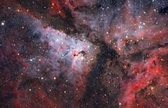 Eta Carinae LRGB (maicongerminiani) Tags: eta carinae etacarinae ts triplet tripleto astrophotography apod asi astronomy astrobin aapodx2 aapod apo azeq5 astro astrodon lrgb astrometrydotnet:id=nova2470381 astrometrydotnet:status=solved
