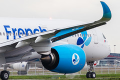 French blue Airbus A350-941 cn 193 F-WZGX // F-HREV (Clément Alloing - CAphotography) Tags: french blue airbus a350941 cn 193 fwzgx fhrev toulouse airport aeroport airplane aircraft flight test canon 100400 spotting tls lfbo aeropuerto blagnac airways aeroplane engine sky ground take off landing 1d mark iv