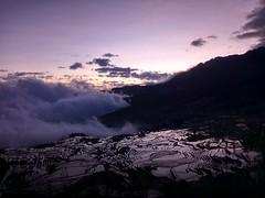 Hani Terrace (Yunnan) - Before sunrise (tcchang0825) Tags: terrace hani yunnan yuanyang sunrise