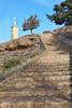 Ayllón (@edu.valero (Instagram)) Tags: cristo christ ayllon jesus sculpture escultura stairs escaleras segovia espaãƒâ±a